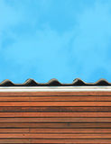 Eave roof Stock Photography