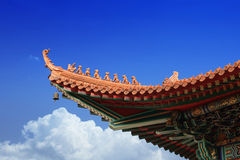 Eaves chineses Foto de Stock Royalty Free