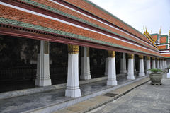Eaves of temple, bangkok Royalty Free Stock Image