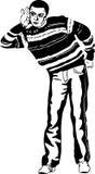 Eavesdropper Royalty Free Stock Image