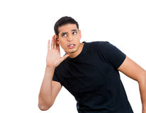 Eavesdropping Royalty Free Stock Photography
