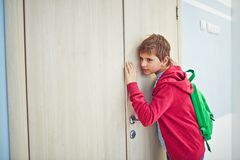 Eavesdropping Royalty Free Stock Photo