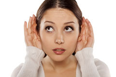 Eavesdropping Stock Photography