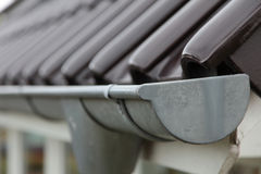 Eavestrough Royalty Free Stock Image