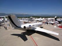 Ebace airshow Genève 2012 Stock Afbeeldingen