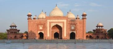 Ebadadt Gahe Taj Mahal, Indien Agra Royaltyfria Bilder