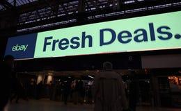 Ebay billboard obraz stock