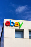 Ebay kwater głównych Korporacyjny znak Obrazy Stock