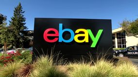 Ebay Outdoor Logo At Company Headquarters In Silicone Valley Stock Video Video Of California Valley 137324901