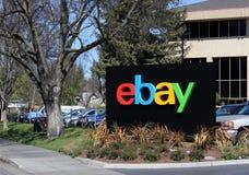 EBay World Headquarters. San Jose, California, USA – March 18, 2014: The eBay world headquarters building located in San Jose. eBay is an American Royalty Free Stock Photo