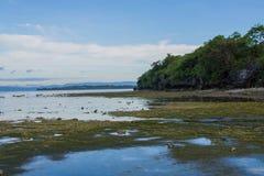 Ebb tide sea Stock Images