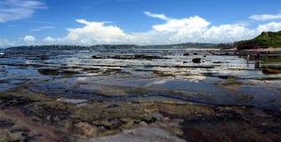 Ebbe an der langen Riff-Landspitze Lizenzfreies Stockbild