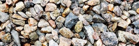 Ebbles小石头自然本底石渣 库存照片