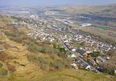 Ebbw dal, Wales royaltyfria bilder
