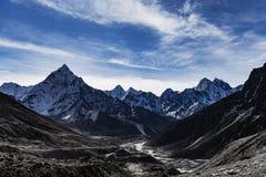 EBC que Trekking Himalaya imagens de stock royalty free