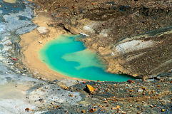 Ebeko  Volcano, Paramushir Island,  Russia Royalty Free Stock Images