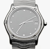 Ebel watch. Clockface of an Ebel-watch Royalty Free Stock Images