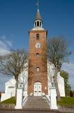 Ebeltoft Church - Denmark Stock Image