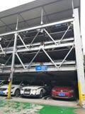 Eben beweglicher Parkplatz in China Stockbilder