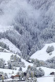 Eben gefallener Schnee Lizenzfreies Stockbild