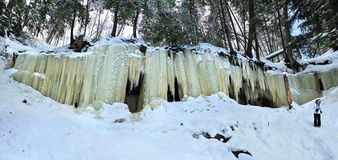 Eben Ice Caves Michigan USA Royaltyfria Bilder