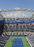 Eben verbesserter Arthur Ashe Stadium bei Billie Jean King National Tennis Center Stockfotografie