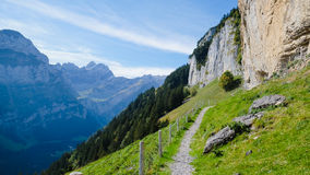 EBENALP, SWITZERLAND. / Ebenalp is a famous destination in  Appenzell , Switzerland Royalty Free Stock Photography