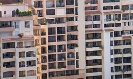 Ebenen in Monaco Stockbild
