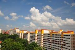Ebenen in Singapur Stockfoto