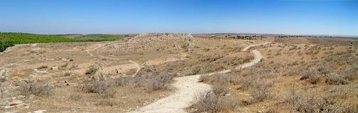 Ebenen von Lachish Stockbild