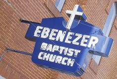 The Ebenezer Baptist Church in Atlanta Georgia Royalty Free Stock Image