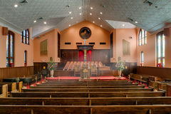 Ebenezer Baptist Church Royalty Free Stock Photos