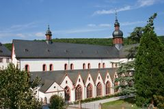 Eberbach-Abtei Lizenzfreie Stockbilder