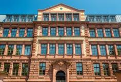 Eberhard Gothein school building in Mannheim Stock Image
