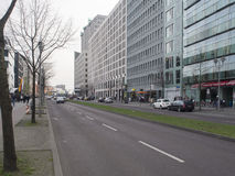 Ebertstrasse street, Berlin Stock Image