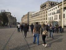 Ebertstrasse street, Berlin Stock Images