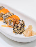 Ebi fry roll Royalty Free Stock Photos