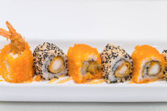 Ebi fry roll Royalty Free Stock Image
