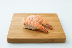 Ebi Nigiri Sushi Royalty Free Stock Photo