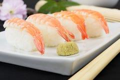 Ebi Nigiri Sushi Royalty Free Stock Image