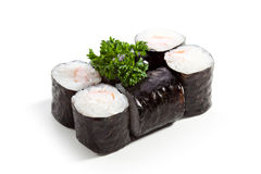 Ebi Roll OVer White Stock Photos