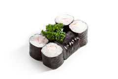 Ebi Roll over White Stock Photo