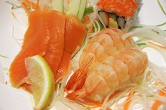 Ebi sushi Stock Photography