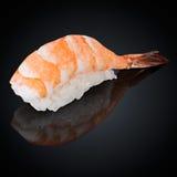 Ebi-Sushi mit Garnele Stockbild