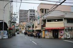 Ebisuhigashi, tennoji区 免版税库存照片