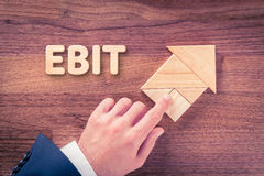 EBIT growth Stock Images