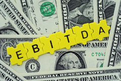 EBITDA Royalty Free Stock Photos