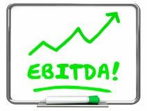 EBITDA Earnings Accounting Profit Revenue Erase Board Royalty Free Stock Photo