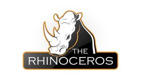 Eblema носорога Стоковая Фотография RF