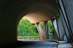Ebniter dolinni naturalni cudy, Vorarlberg, Austria zdjęcia stock
